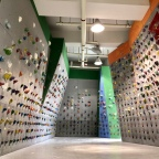 Climbing at We Can Center
